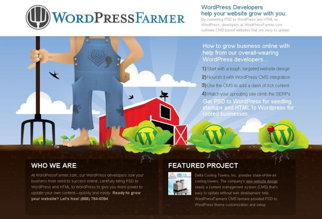 WordPress Farmer