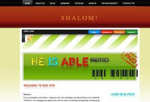 He Is Able Ministries