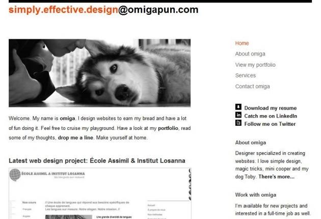 Design Portfolio of Omiga Pun